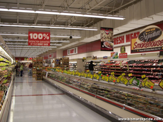 Cash Wise Foods Interior