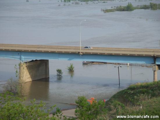 Missouri River scene on June 4, 2011