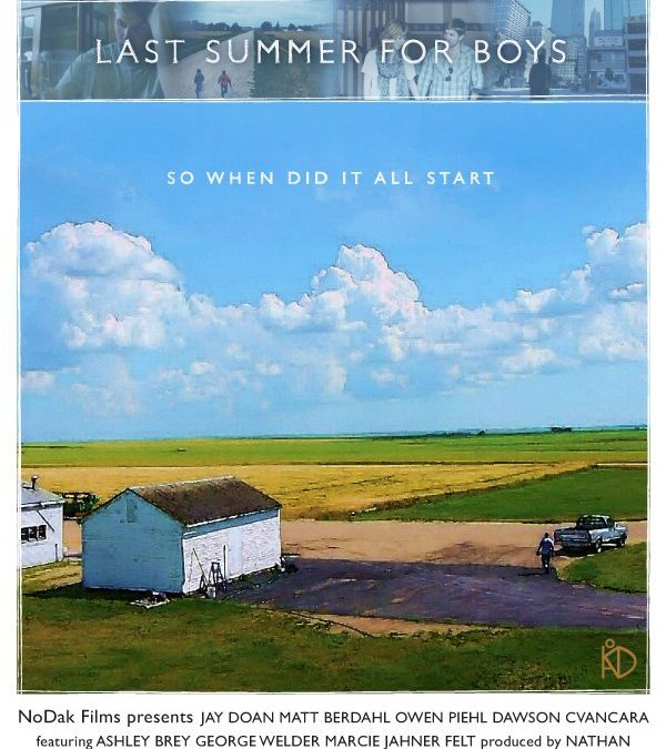 """""""Last Summer For Boys"""" Official Poster"""