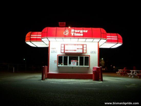 Burger Time At Night