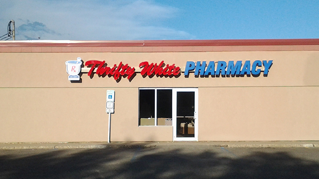 Northbrook Drug Becomes Thrifty White Pharmacy