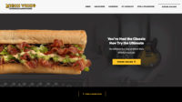 Which Wich Website in January 2018
