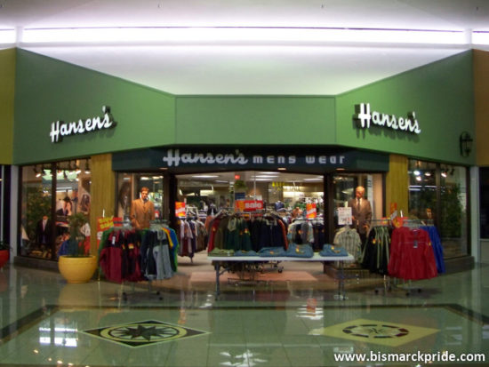 Hansen's Menswear at Gateway Mall