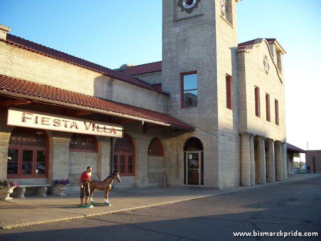 Fiesta Villa Mexican Restaurant / Former Northern Pacific Train Depot