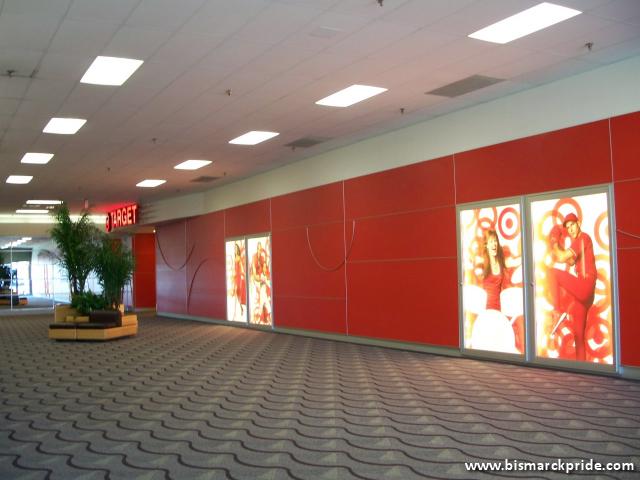 Picture Of Kirkwood Mall Interior Target Store In North Dakota