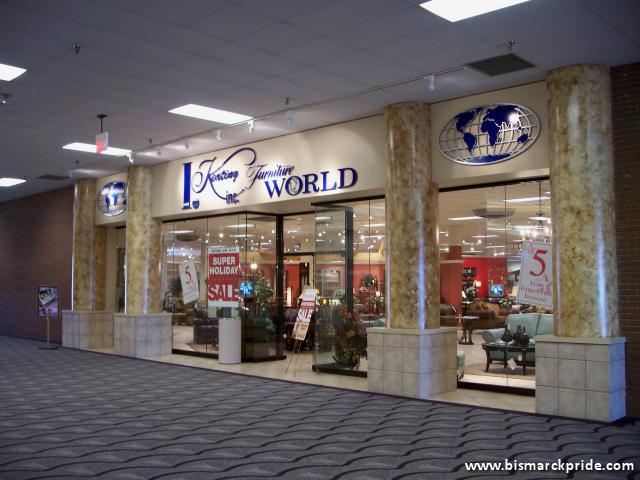 I. Keating Furniture World Store Entrance At Kirkwood Mall