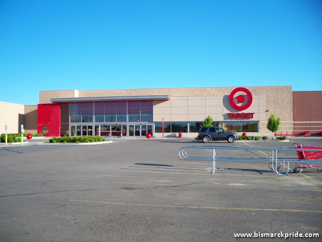 Picture Of Target Store Exterior At Kirkwood Mall In North Dakota