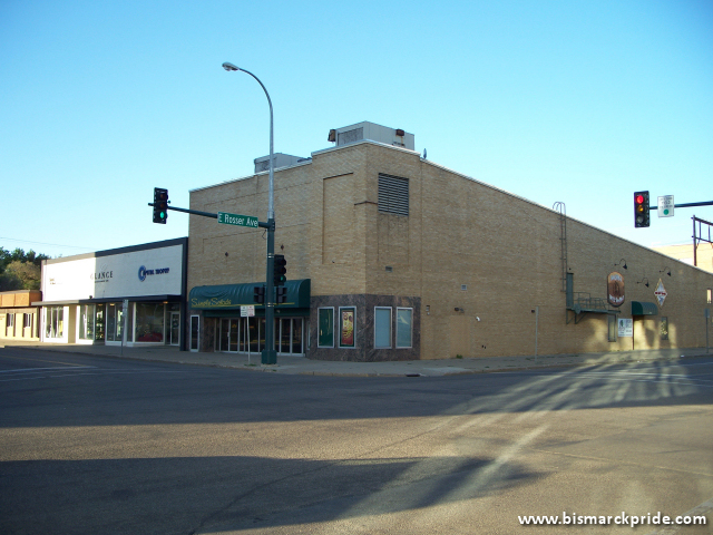 Former Dakota Twin Theater Building - Downtown