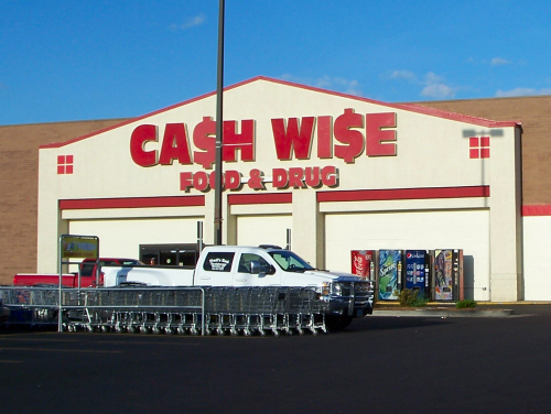 Cash Wise Food in 2011