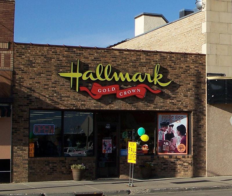Hallmark Store in Mandan