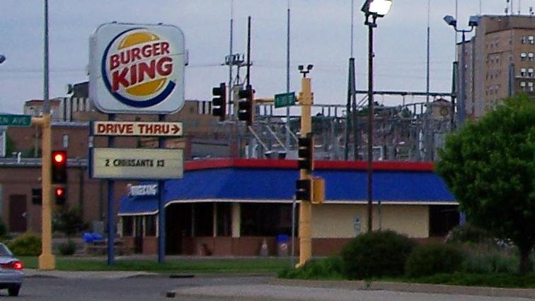 Bismarck Burger King, prior to remodel