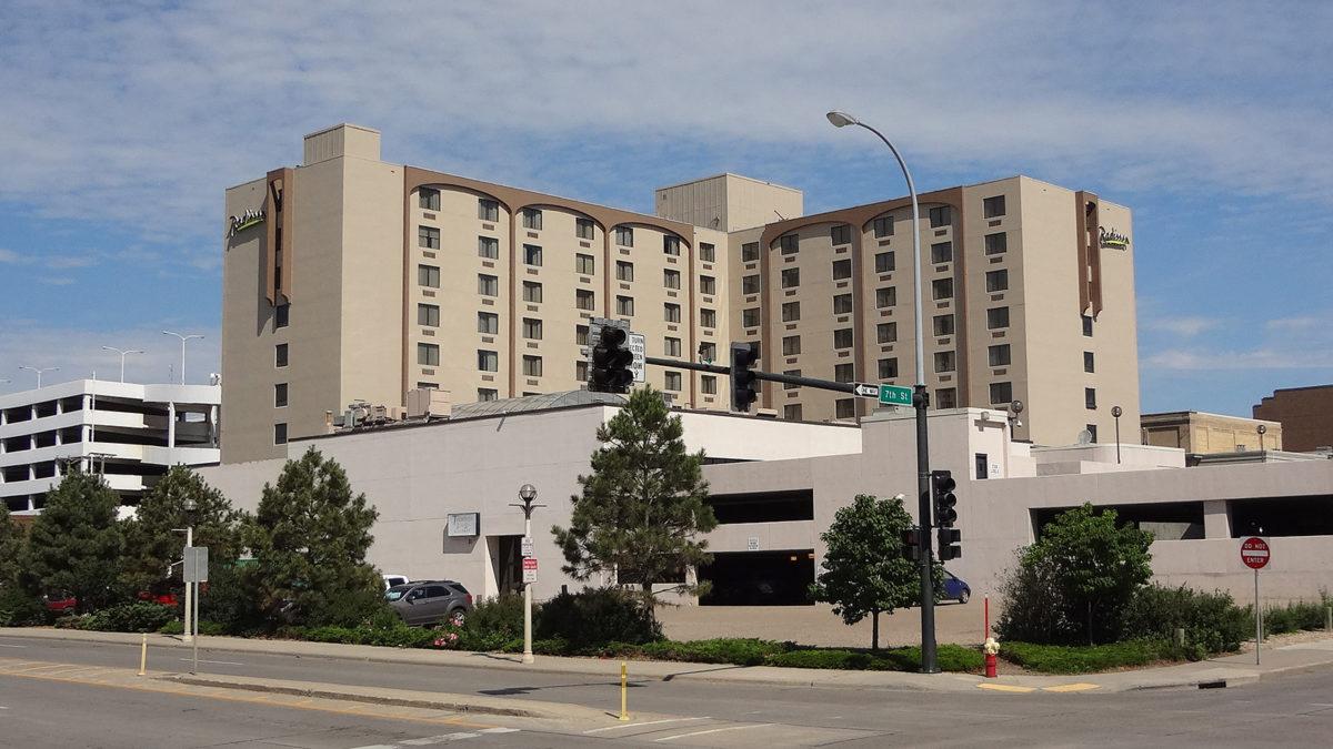 Radisson Hotel in Downtown Bismarck