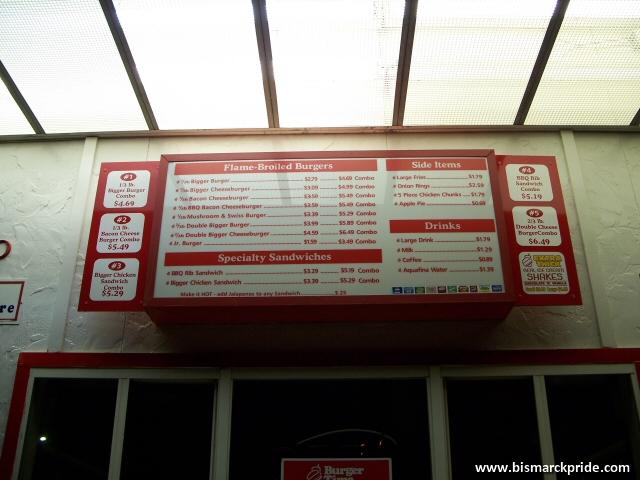 Burger Time Menu Board Sign