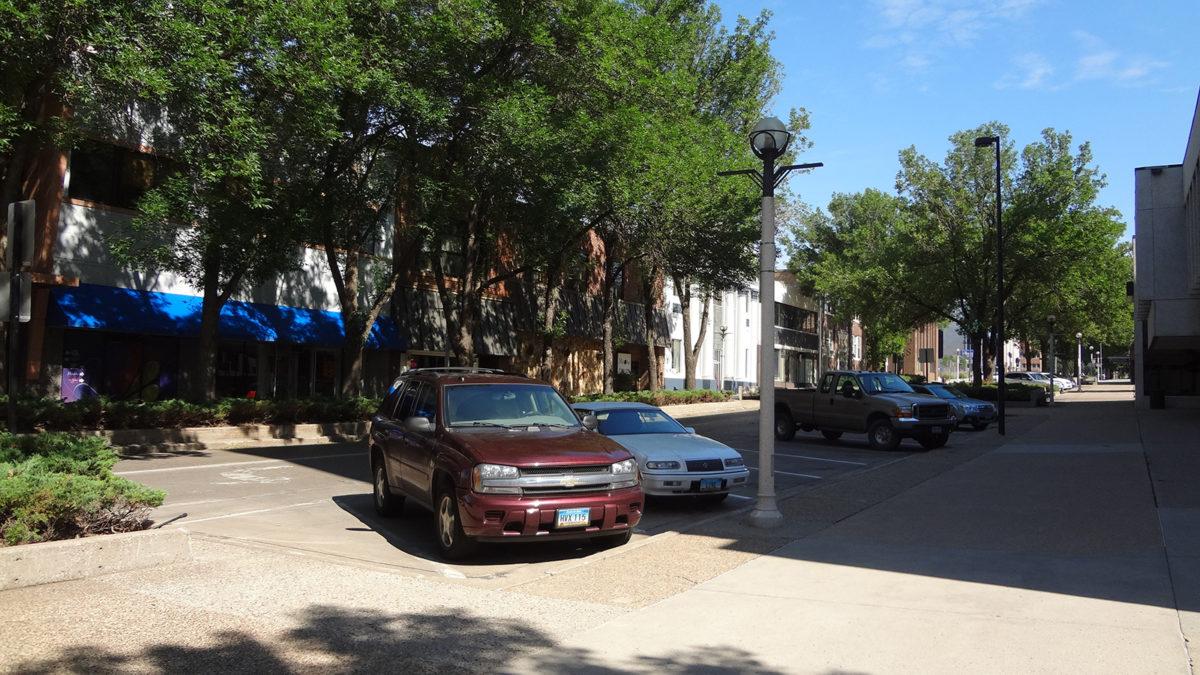 4th Street - Downtown Bismarck July 2014