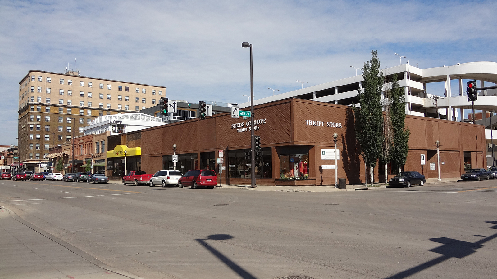 Main Avenue in Downtown Bismarck - July 2014