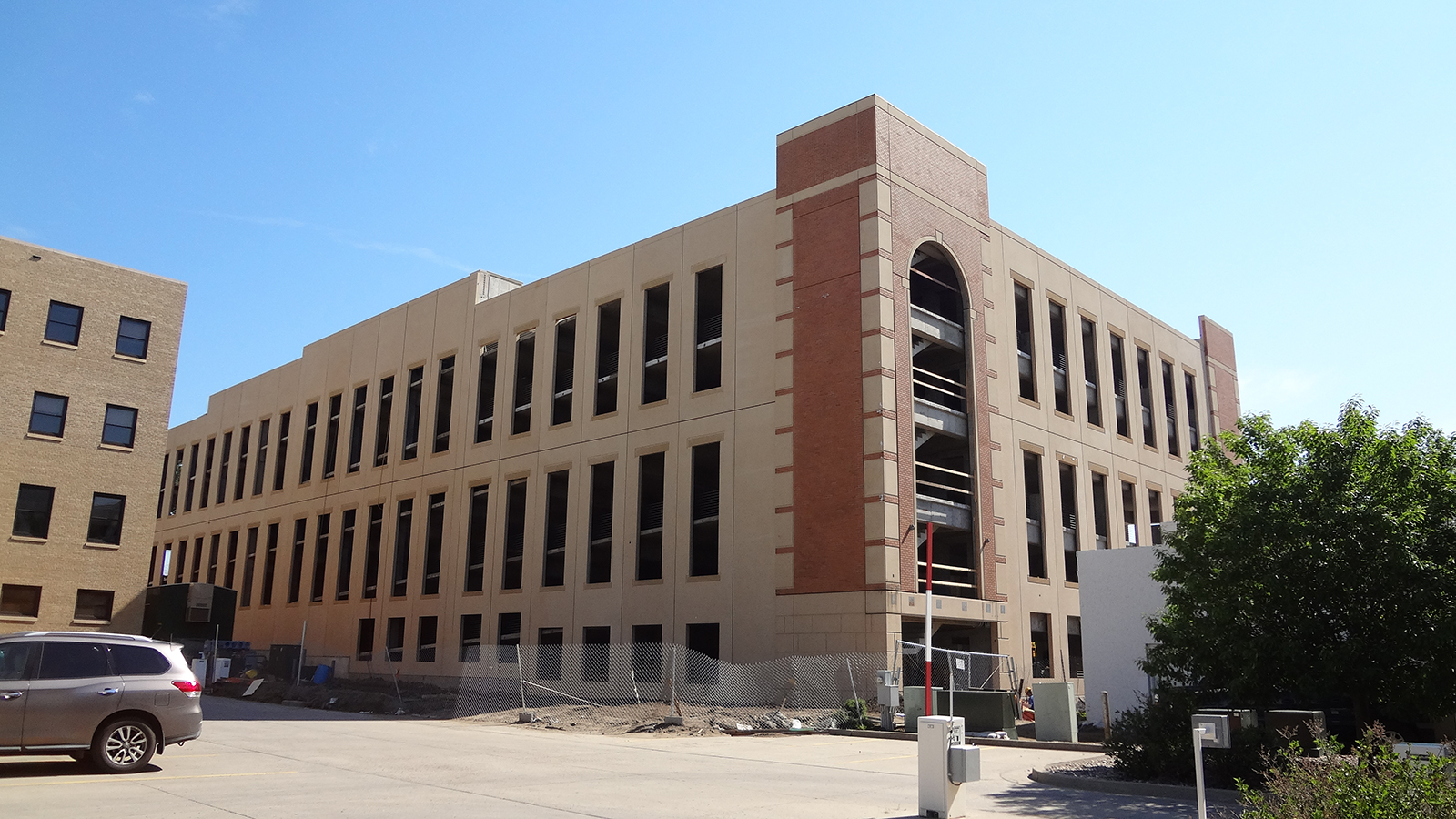 Downtown Bismarck July 2014 - New Parking Ramp (2)