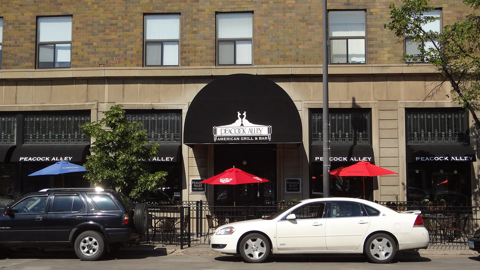 Peacock Alley - Patterson Hotel in Downtown Bismarck July 2014