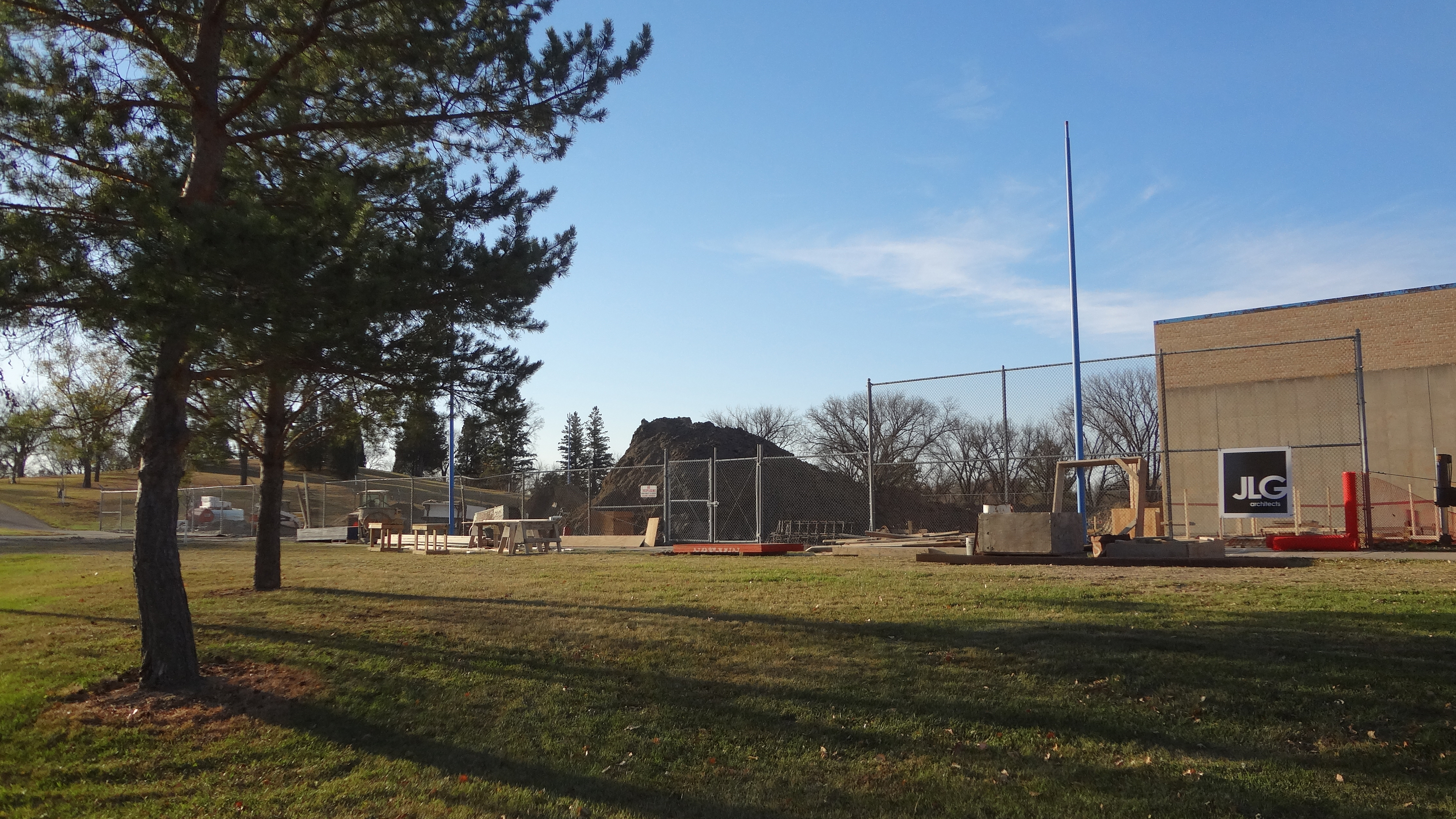 Hillside Park Pool Renovation Scene