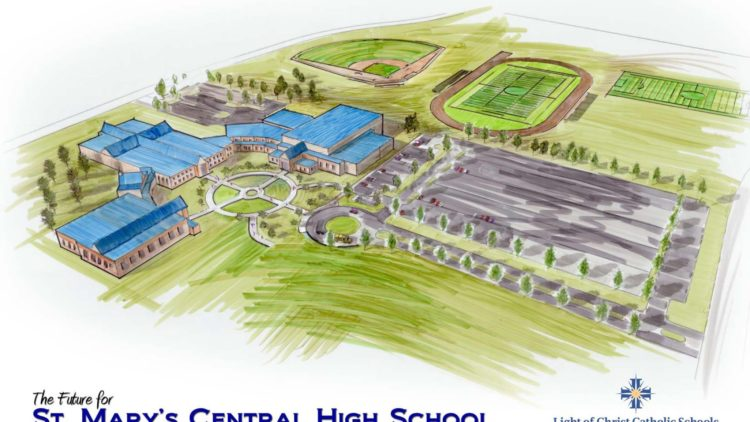 St. Mary's Central High School Expansion Plan